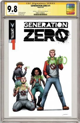 Generation Zero Portada alternativa de Pere Pérez