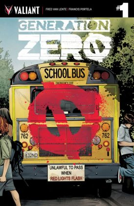 Generation Zero Portada principal de Stephen Mooney