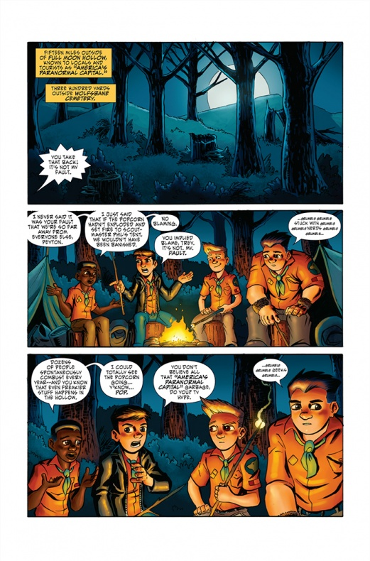 Ghoul Scouts Página interior (2)