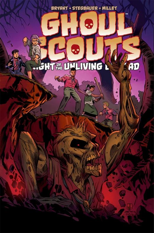 Ghoul Scouts Portada alterantiva de Sean Izaakse