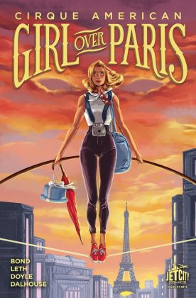 Girl Over Paris Portada de Ming Doyle