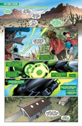 Green Lanterns Página interior (2)