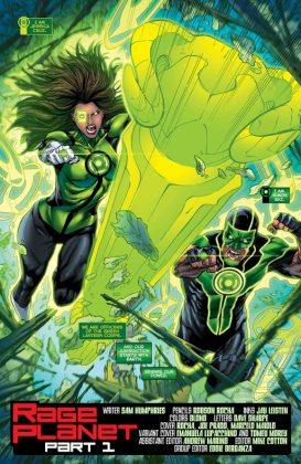 Green Lanterns Página interior (4)