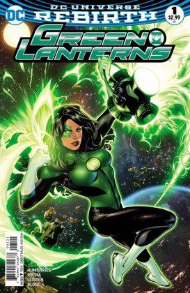 Green Lanterns Portada alternativa de Emanuela Lupacchino