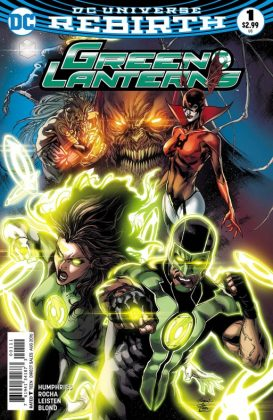 Green Lanterns Portada principal de Robson Rocha y Joe Prado