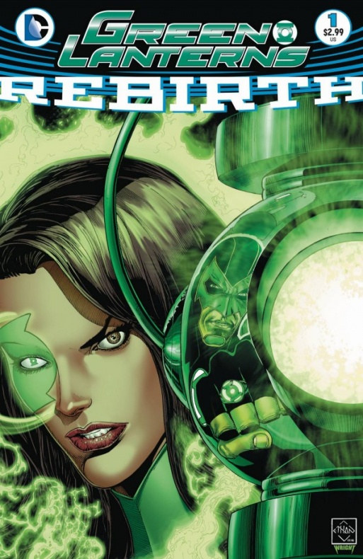 Green Lanterns Rebirth 1