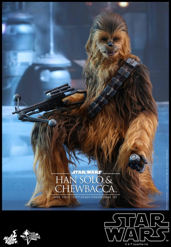 Hot Toys Han Solo Chewbacca (6)