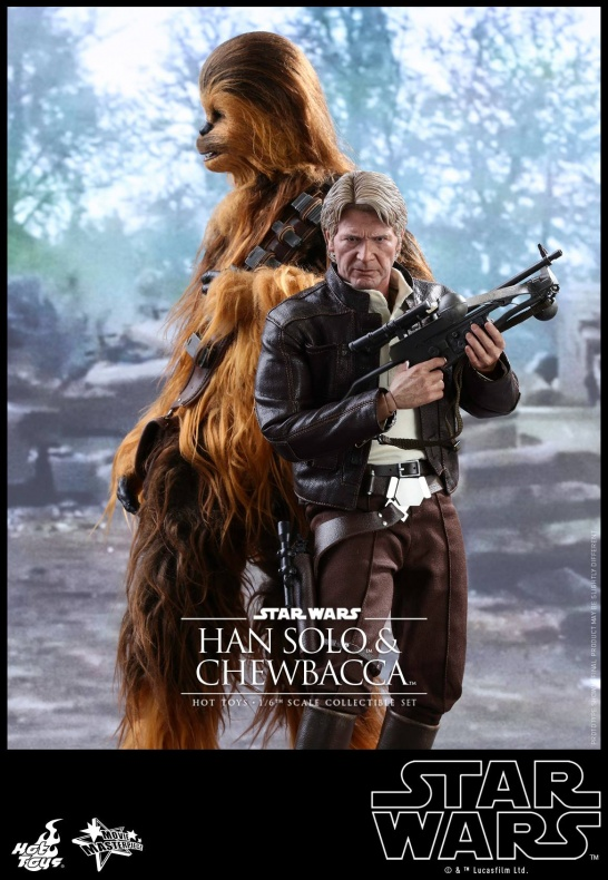 Hot Toys Han Solo Chewbacca (7)
