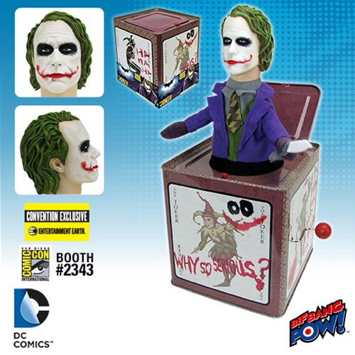 Joker Jack in the Box SDCC
