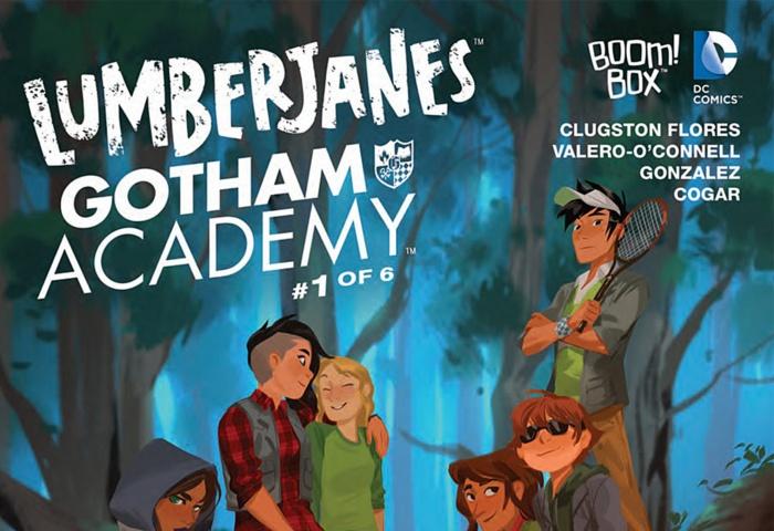 Lumberjanes Gotham Academy Destacada