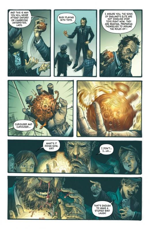 Mycroft Holmes The Apocalypse Handbook Página interior 2