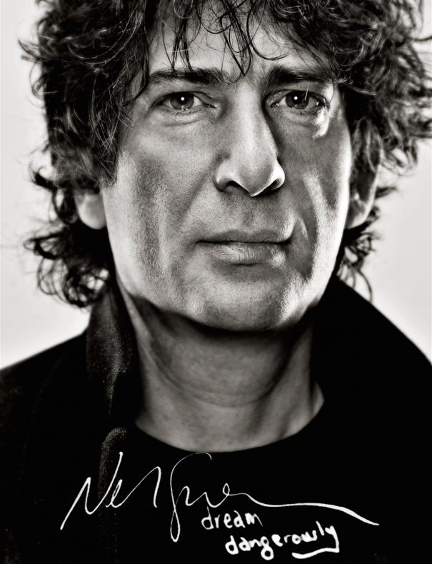 Neil Gaiman Dream Dangerously poster vimeo