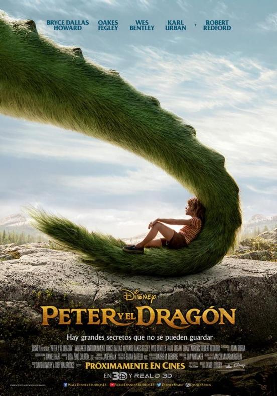 Peter y el dragón Disney