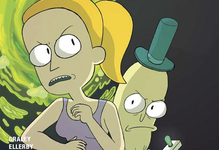 Rick and Morty Lil' Poopy Superstar Destacada