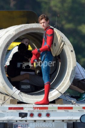 Rodaje Spider-Man Homecoming (2)