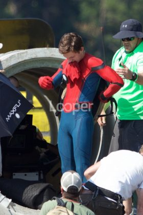 Rodaje Spider-Man Homecoming (3)