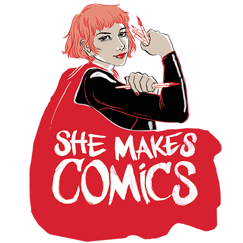 She Makes Comics documental