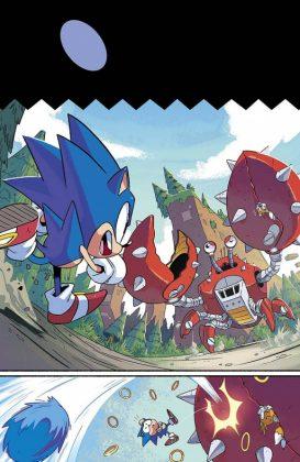 Sonic Mega Drive Página interior (1)