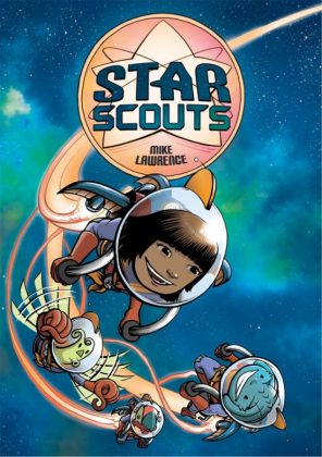 Star Scouts Portada de Mike Lawrence