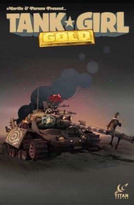 Tank Girl Gold Portada de Andrey Tkachenko