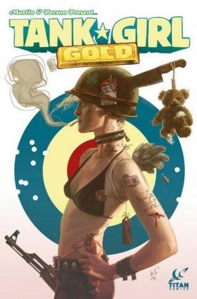 Tank Girl Gold Portada de Black Frog
