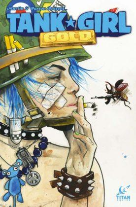 Tank Girl Gold Portada de Lora Zombie