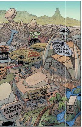 The Flintsones Página interior (2)