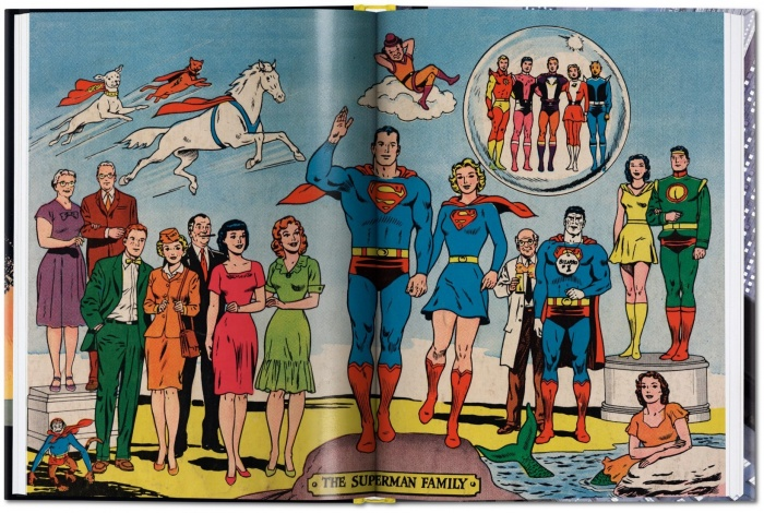 The superman family Taschen The little book of Superman