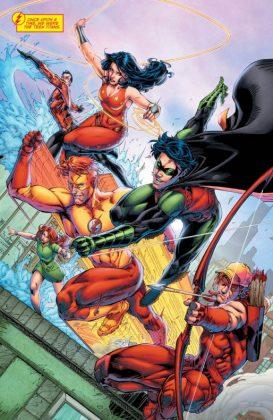 Titans Rebirth Página interior (1)