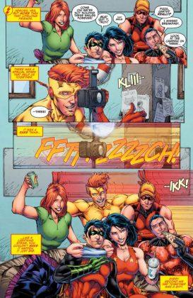Titans Rebirth Página interior (2)