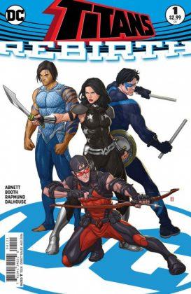 Titans Rebirth Portada alternativa de Mike Choi