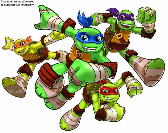Tortuguitas-ninja