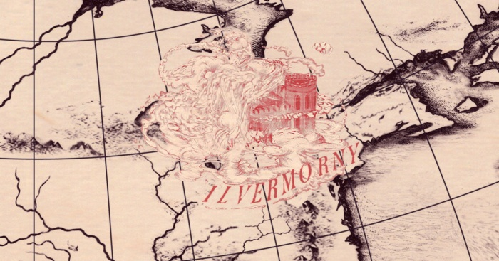 Wizarding School Map Ilvermorny