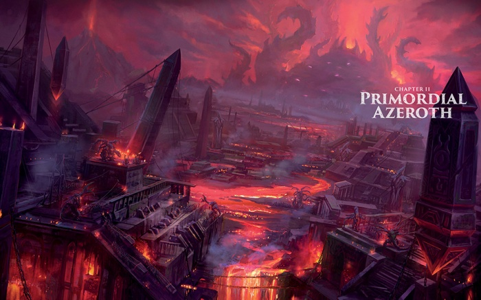 World of Warcraft Crónicas Azeroth primordial