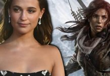 alicia vikander - lara croft - tom raider