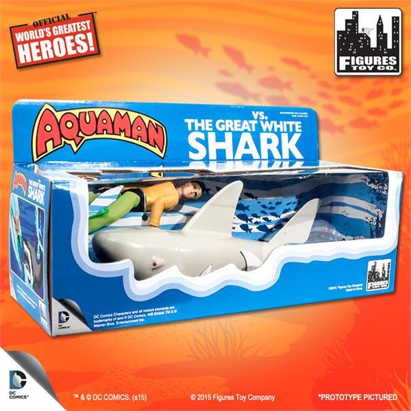 aquaman tiburon figura