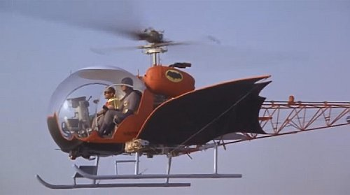 batman adam west helicoptero