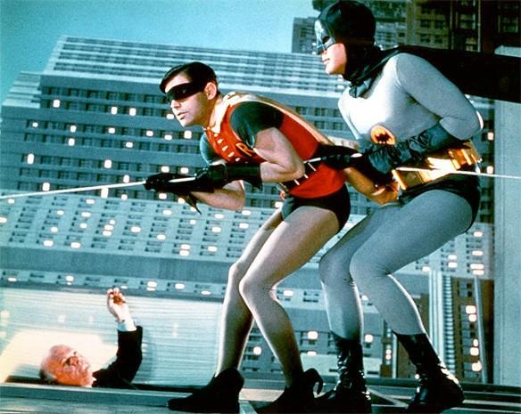 batman adam west pared