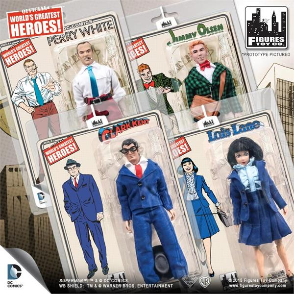 daily planet figuras