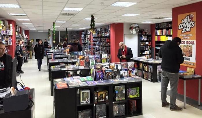 mil comics-tienda comics