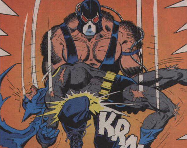 13 Proezas increíbles que han hecho los superhéroes 05 Batman se recupera rotura espalda