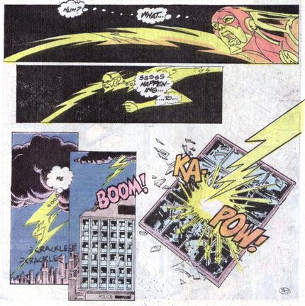 13 Proezas increíbles que han hecho los superhéroes 13 Flash se da los poderes a si mismo