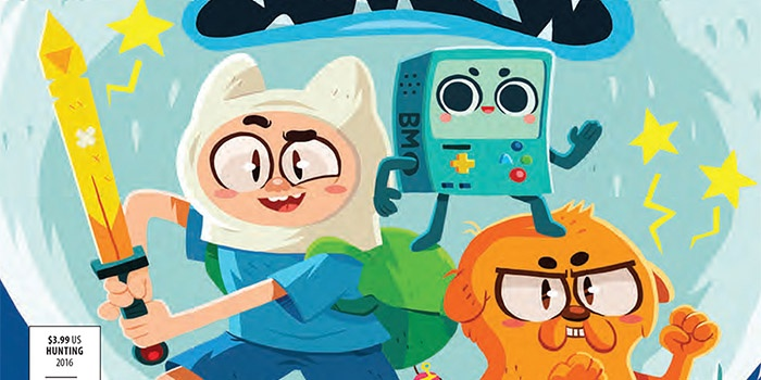 Adventure Time Comics Destacada