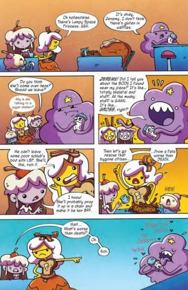 Adventure Time Comics Página interior (5)