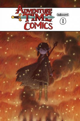 Adventure Time Comics Portada alternativa de Derek Kirk Kim