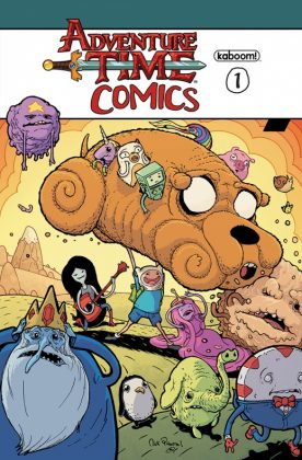Adventure Time Comics Portada alternativa de Nick Pitarra