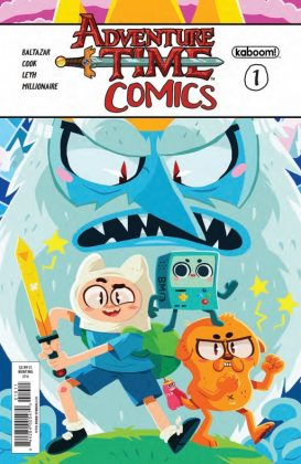 Adventure Time Comics Portada principal de Erin Hunting