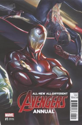 All-New All-Different Avengers Annual Portada alternativa de Alex Ross