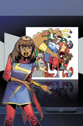 All-New All-Different Avengers Annual Portada alternativa de Mahmud Asrar y Jay Fosgitt