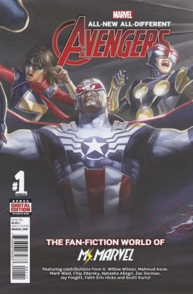 All-New All-Different Avengers Annual Portada principal de Alex Ross
